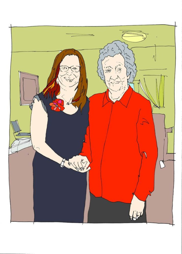 Helen and May